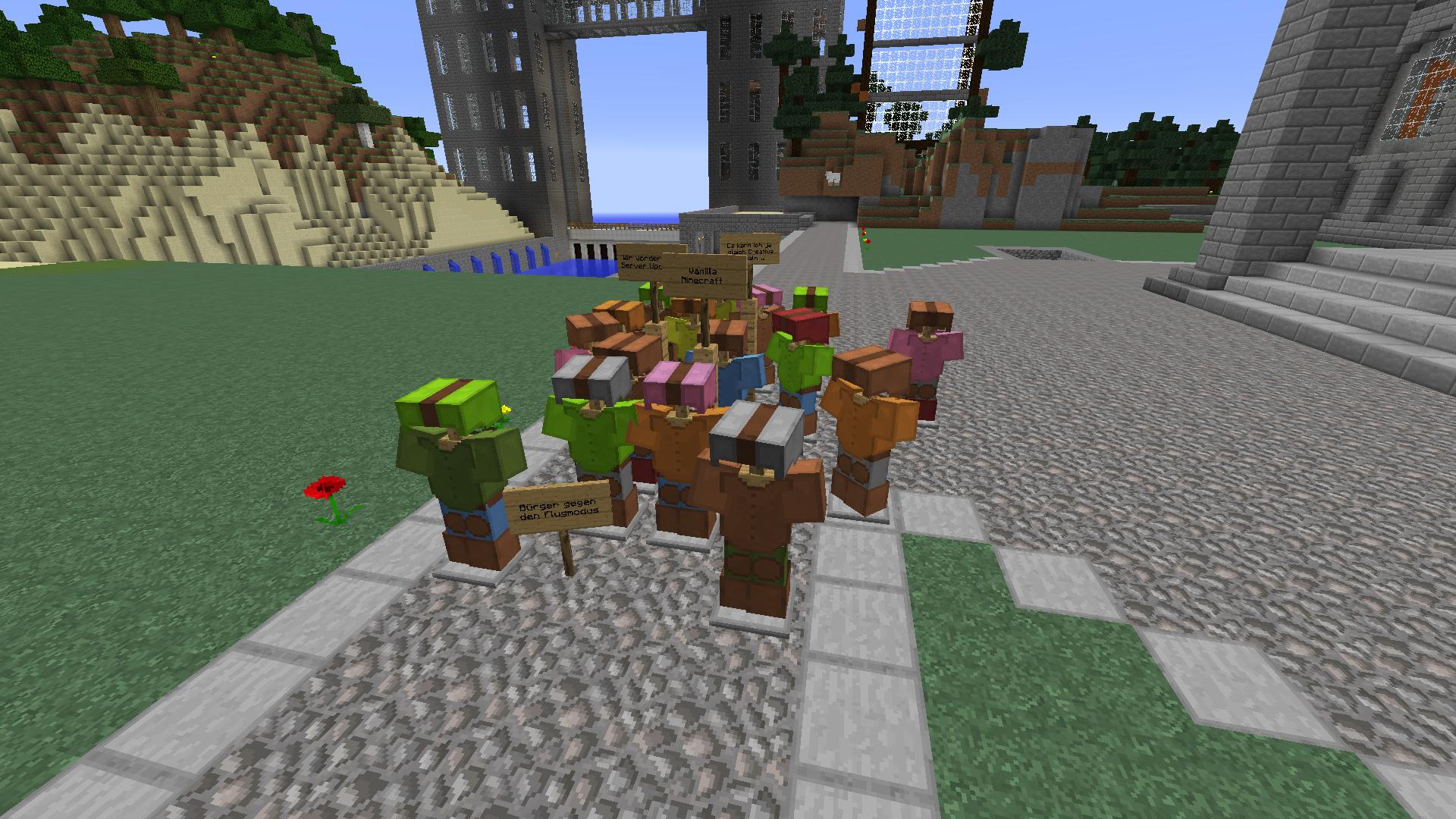 HeadShotHarp Minecraft - Minecraft vanilla spielen